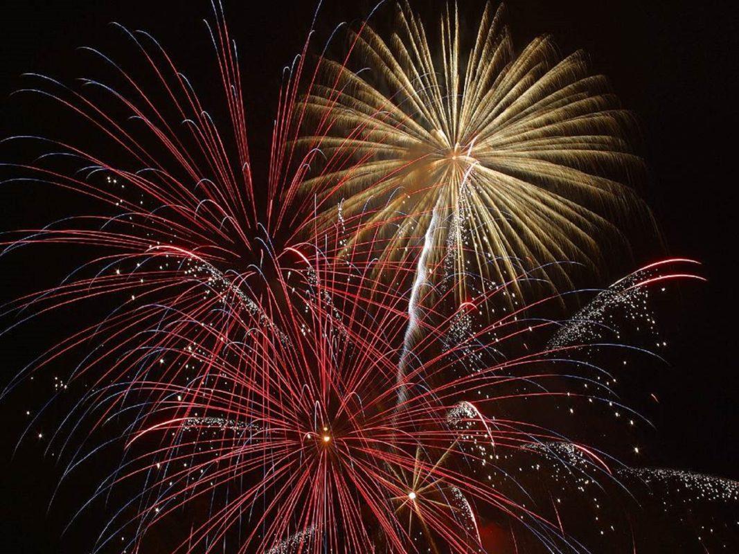 North West fireworks displays