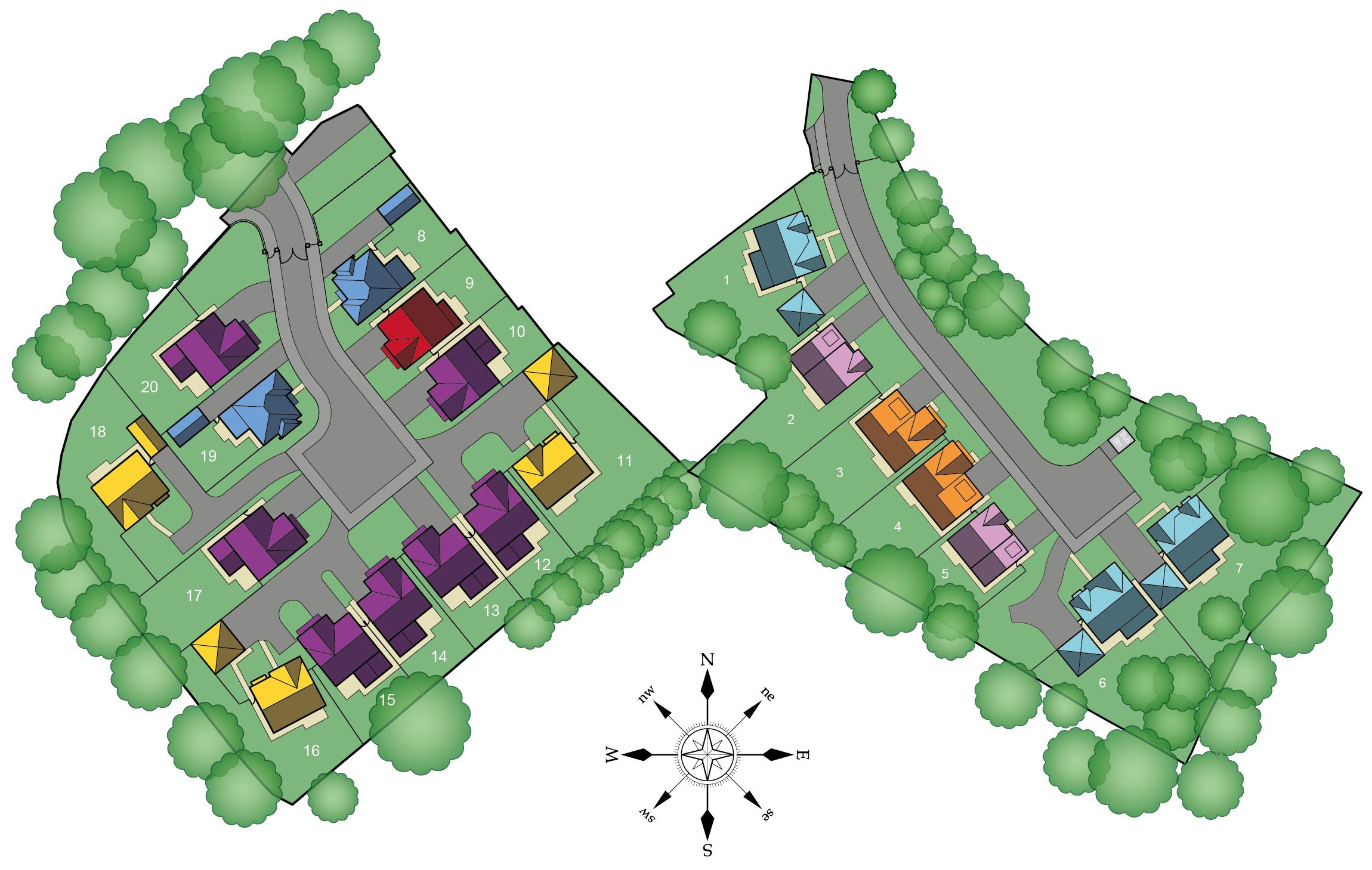 Moss Lea Park Site Plan
