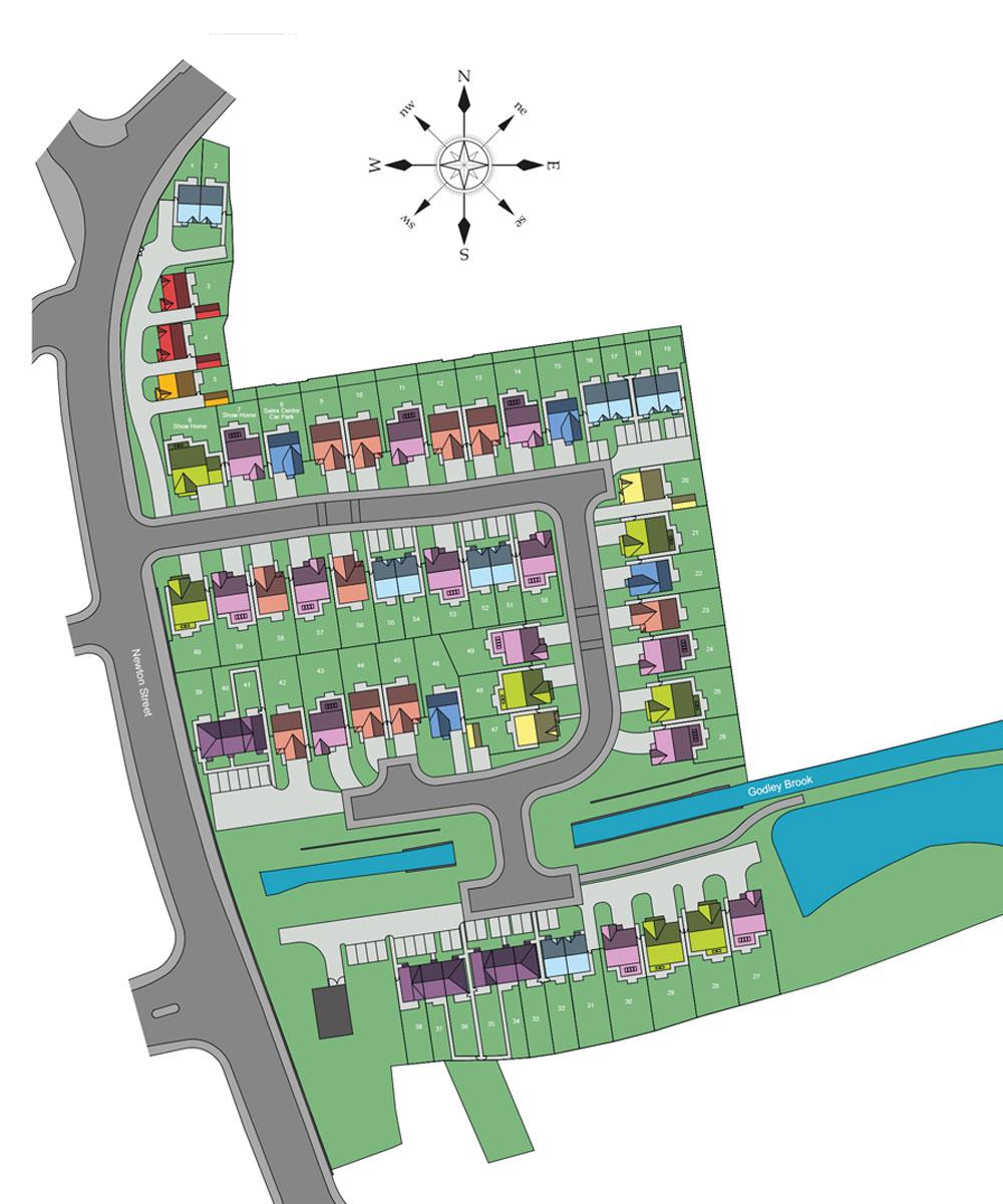 Christy Brow Site Plan